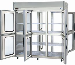 パナソニック(旧サンヨー)パススルータイプ冷蔵庫型式:SRR-KP1883D(旧SRR-JP1883VD)寸法:幅1785mm 奥行850mm 高さ1950mm送料:無料 (メーカーより)直送保証:メーカー保証付受注生産品、納期約2週間