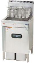 マルゼンガスフライヤー(エクセレントシリーズ)マイコン搭載、一槽式型式:MXF-056FC寸法:幅550mm 奥行600mm 高さ850mm バック250mm送料:無料 (メーカーより)直送保証:メーカー保証付