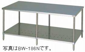 マルゼン作業台・スノコ板付(バックガードなし)型式:BW-186N寸法:幅1800m 奥行600mm 高さ800mm送料:無料 (メーカーより)直送保証:メーカー保証付