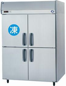 パナソニック(旧サンヨー)縦型インバーター冷凍冷蔵庫型式:SRR-K1561CSA寸法:幅1460mm 奥行650mm 高さ1950mm送料:無料 (メーカーより)直送保証:メーカー保証付