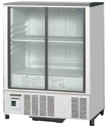 ホシザキ・星崎冷蔵小型ショーケース(スライド扉タイプ)型式:SSB-85DTL(旧SSB-85CTL2)寸法:幅850mm 奥行450mm 高さ1080mm送料:無料 (メーカーより直送)保証:メーカー保証付