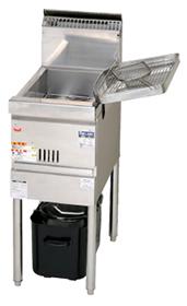 マルゼン涼厨フライヤー低油量タイプ一槽式型式:MGF-CE12寸法:幅350mm 奥行600mm 高さ800mm バック150mm送料:無料 (メーカーより)直送保証:メーカー保証付