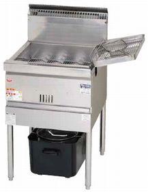 マルゼン涼厨フライヤー低油量タイプ一槽式型式:MGF-CE20寸法:幅550mm 奥行600mm 高さ800mm バック150mm送料:無料 (メーカーより)直送保証:メーカー保証付
