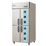 フクシマガリレイ縦型インバーター冷凍冷蔵庫型式:GRD-092PMD(旧ARD-092PMD)寸法:幅900mm 奥行800mm 高さ1950mm送料:無料 (メーカーより直送)保証:メーカー保証付受注生産品