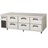 フクシマガリレイ2段ドロワータイプ冷蔵庫型式:LBW-160RM(旧TBW-550RM3)寸法:幅1630mm 奥行750mm 高さ550mm送料:無料 (メーカーより)直送保証:メーカー保証付