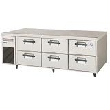 フクシマガリレイ2段ドロワータイプ冷蔵庫型式:LBC-160RM(旧TBC-550RM3)寸法:幅1630mm 奥行600mm 高さ550mm送料:無料 (メーカーより)直送保証:メーカー保証付