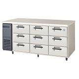 フクシマガリレイ3段ドロワータイプ冷蔵庫型式:LDC-160RM(旧YDC-160RM2)寸法:幅1650mm 奥行600mm 高さ800mm送料:無料 (メーカーより)直送保証:メーカー保証付