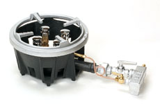 タチバナ鋳物ガスコンロ型式:TG-4ST寸法:幅245mm 奥行430mm 高さ160mm送料:無料 (メーカーより)直送保証:メーカー保証付