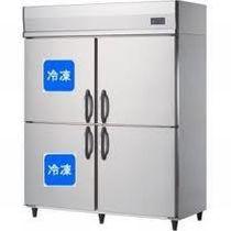 ダイワ・大和タテ型冷凍冷蔵庫型式:563YS2-4寸法:幅1500mm 奥行650mm 高さ1905mm送料:無料 (メーカーより直送)保証:メーカー保証付受注生産品