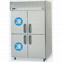 パナソニック(旧サンヨー)タテ型インバーター冷凍冷蔵庫型式:SRR-K1283C2寸法:幅1200mm 奥行800mm 高さ1950mm送料:無料 (メーカーより)直送保証:メーカー保証付