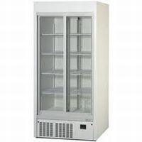 パナソニック(旧サンヨー)冷蔵スライド大扉ショーケース型式:SRM-RV319B(旧SRM-RV319A)寸法:幅900mm 奥行650mm 高さ1900mm送料:無料 (メーカーより)直送保証:メーカー保証付