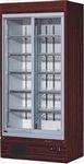 ダイワ・大和冷蔵スライド大扉ショーケース型式:353UJ寸法:幅900mm 奥行600mm 高さ1965mm送料:無料 (メーカーより直送)保証:メーカー保証付