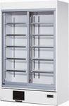 ダイワ・大和冷蔵スライド大扉ショーケース型式:453AUJ寸法:幅1200mm 奥行600mm 高さ1965mm送料:無料 (メーカーより直送)保証:メーカー保証付