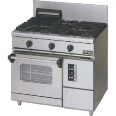 マルゼンパワークックガスレンジ(コンベクションオーブン搭載)型式:MGRX-096E(旧MGRX-096D)寸法:幅900mm 奥行600mm 高さ800mm バック200mm送料:無料 (メーカーより)直送保証:メーカー保証付
