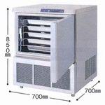 フクシマ・福島ブラストチラー&フリーザー型式:QXF-005BC5寸法:幅700mm 奥行700mm 高さ850mm送料:無料 (メーカーより)直送保証:メーカー保証付在庫僅少