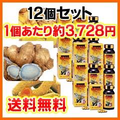 クルクミンをはじめ、精油成分・ミネラルも含んだサプリメント特濃ウコン 12個セット(1個280粒入)【送料無料・代引手数料】