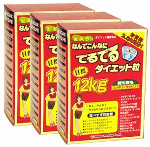 超実感なんでこんなにでるでるダイエット(3箱セット) ミナミヘルシーフーズ 同梱区分J 送料無料(沖縄・離島・北海道を除く)