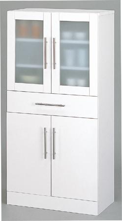 カトレア食器棚60-120 幅60cm 高さ120cm 組立