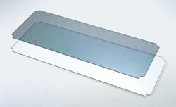 受注生産品プロフェッショナルエレクターオプショナルパーツエンビ板(透明3mm厚) 間口1820mm×奥行き530mm用