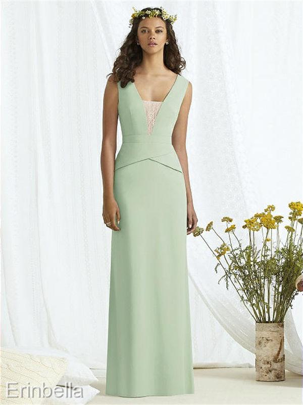 パーティードレス ロングドレス イブニングドレス ワンピース カラードレス 8166