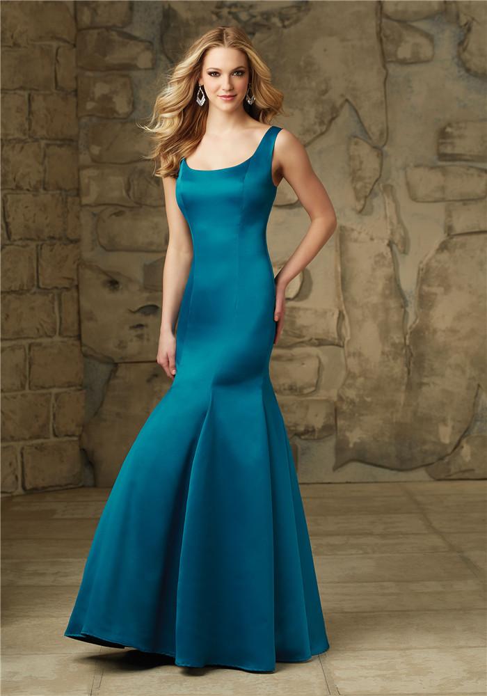 パーティードレス カラードレス ワンピース イブニングドレス ロング 肩紐 スレンダー フォーマル セミオーダー