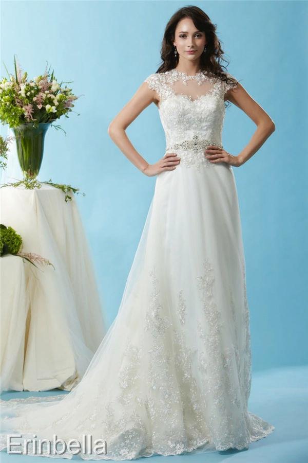 ウェディングドレス ウェディングドレス Aライン ロングドレス BL126