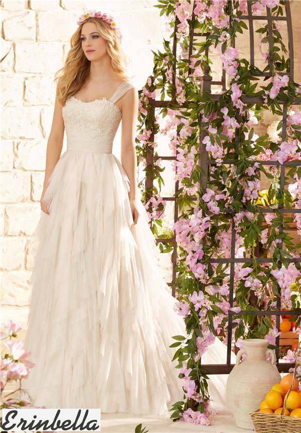ウェディングドレス ウェディングドレス Aライン ロングドレス TW1560