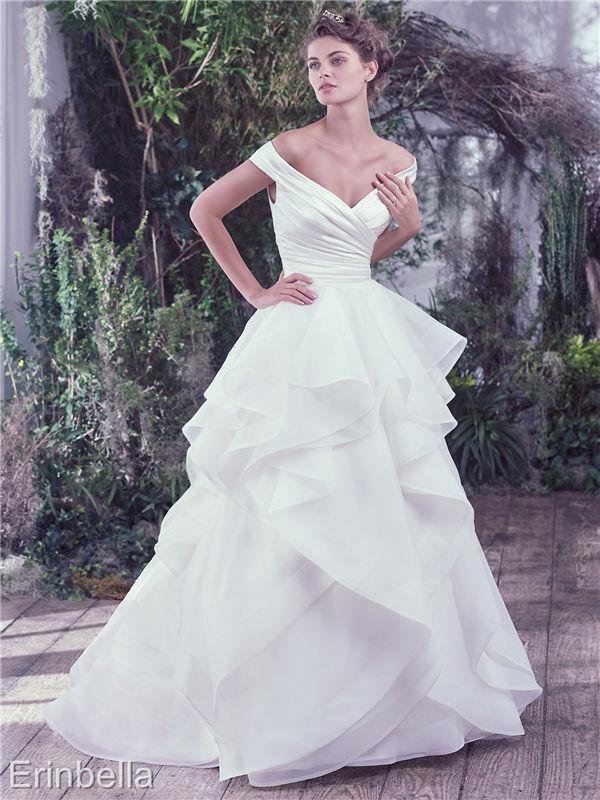 ウェディングドレス ウェディングドレス Aライン ロングドレス TW1605
