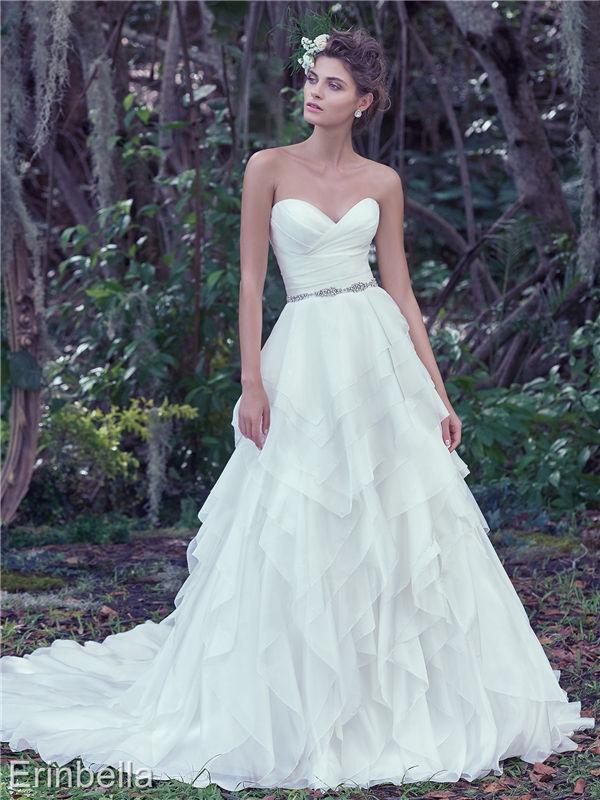 ウェディングドレス ウェディングドレス Aライン ロングドレス TW1614