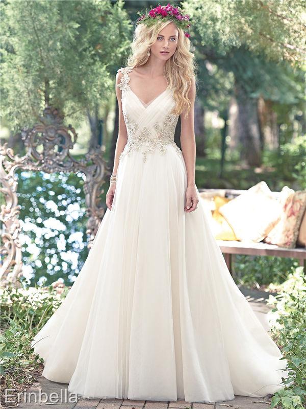 ウェディングドレス ウェディングドレス Aライン ロングドレス TW1641
