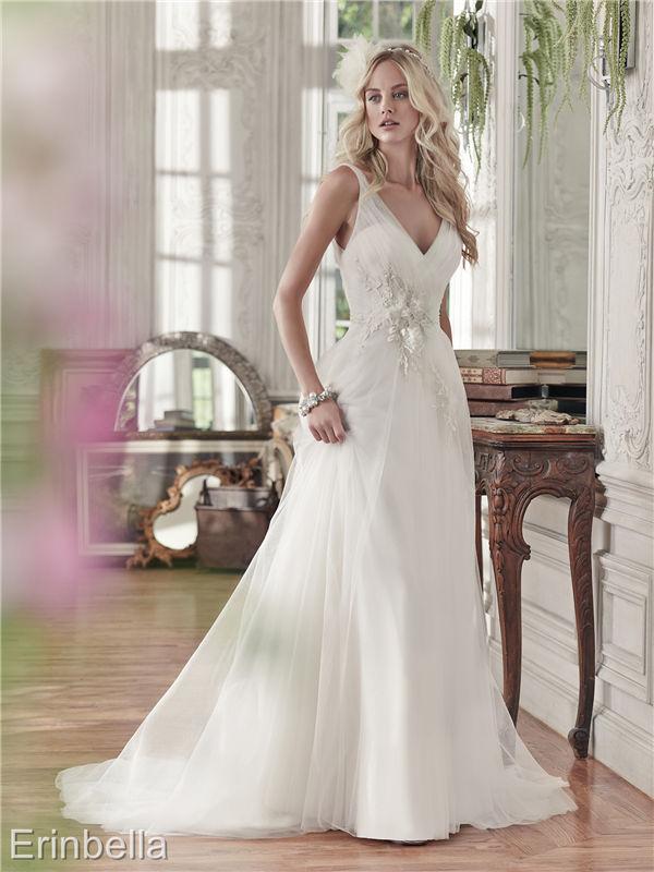 ウェディングドレス ウェディングドレス Aライン ロングドレス TW1663