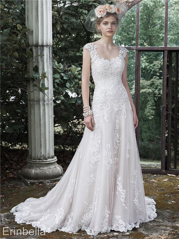 ウェディングドレス ウェディングドレス Aライン ロングドレス TW1685
