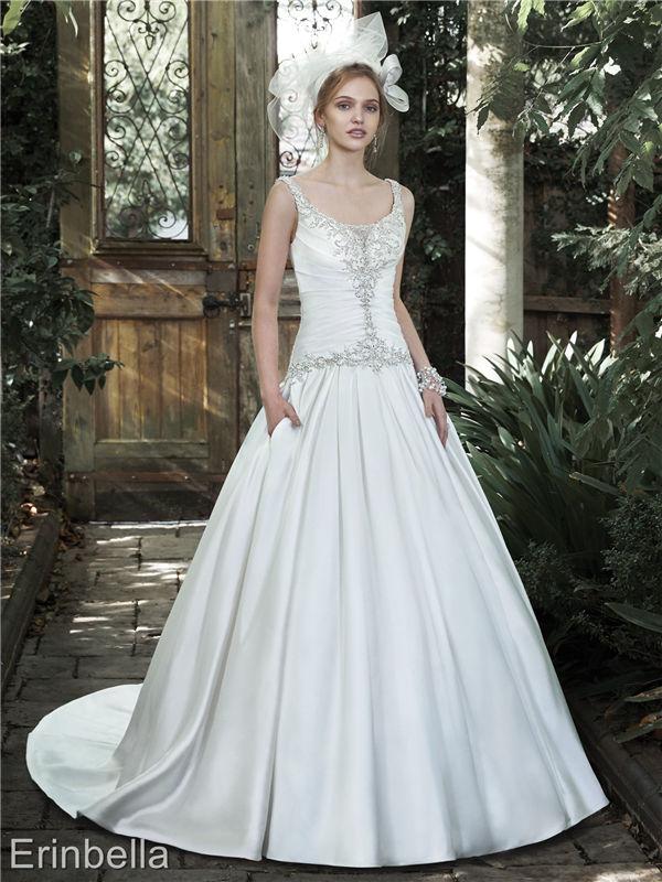 ウェディングドレス ウェディングドレス Aライン ロングドレス TW1694