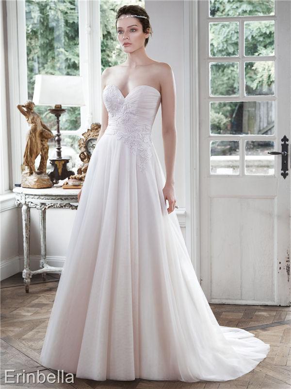 ウェディングドレス ウェディングドレス Aライン ロングドレス TW1701