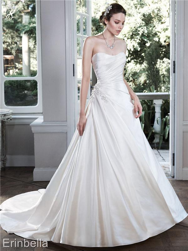 ウェディングドレス ウェディングドレス Aライン ロングドレス TW1707