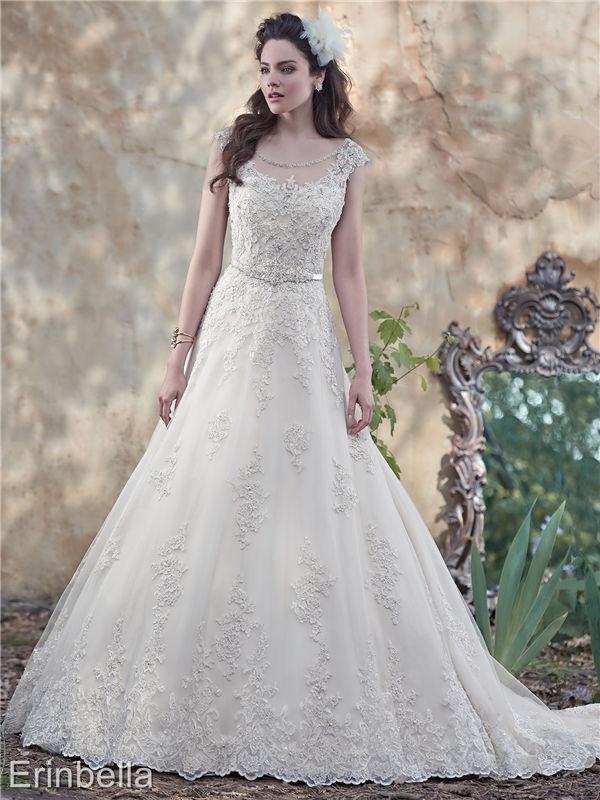 ウェディングドレス ウェディングドレス Aライン ロングドレス TW1669