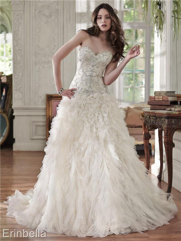 ウェディングドレス ウェディングドレス Aライン ロングドレス TW1654