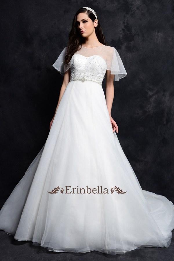 ウェディングドレス Aライン マタニティ 妊婦さんも安心 結婚式 二次会 披露宴 ブライダル gl047