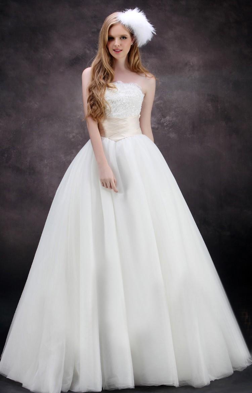 ウェディングドレス ウェディングドレス Aライン TW0422