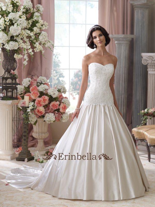 ウェディングドレス Aライン 花嫁 結婚式 二次会 披露宴 ブライダル 114285