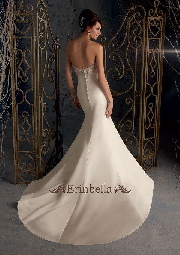 Wedding Dress Mermaid Overseas Custom Made Reception Parties Concert Bride Sweetheart Tw0063