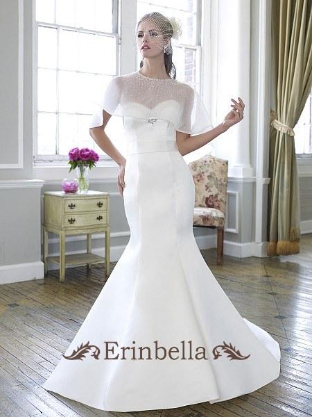 ウェディングドレス ウェディングドレス マーメイドライン ハートカット (J6253)