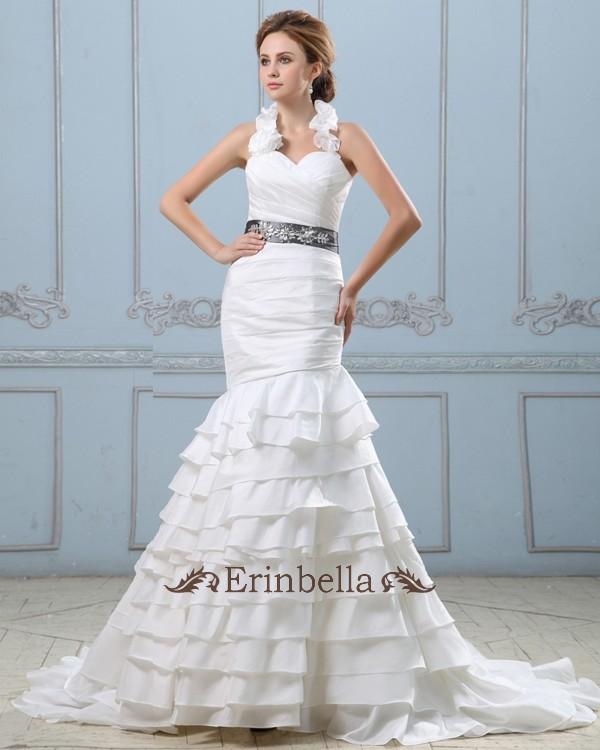 Halter Top Wedding Dresses.Wedding Dress Mermaid Mermaid Halter Top Tw0760
