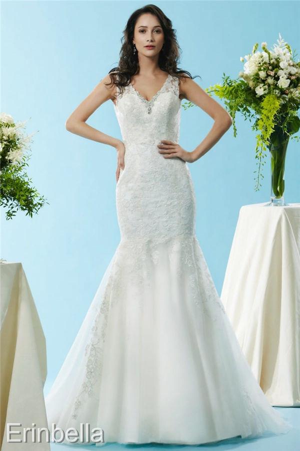 ウェディングドレス マーメイドライン マーメイド ロングドレス BL131