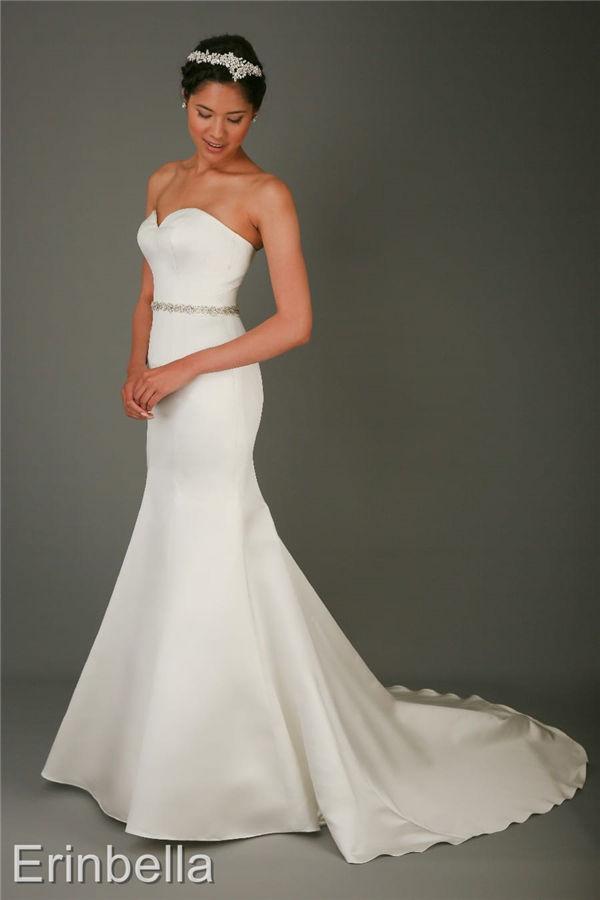 ウェディングドレス マーメイドライン マーメイド ロングドレス bl164