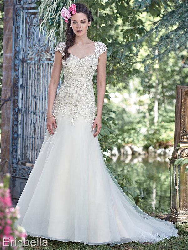 ウェディングドレス マーメイドライン マーメイド ロングドレス tw1638