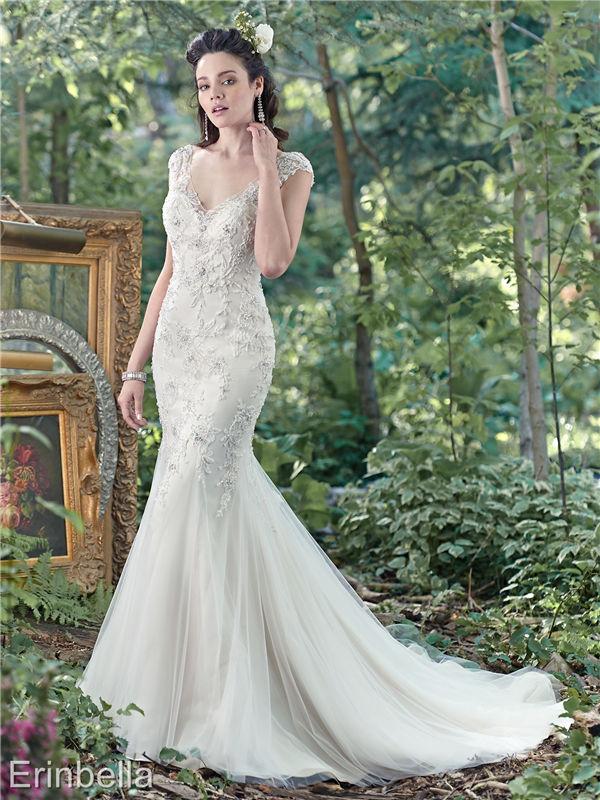 ウェディングドレス マーメイドライン マーメイド ロングドレス TW1675