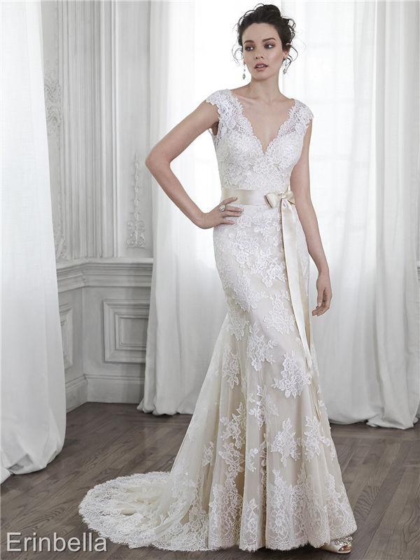 ウェディングドレス マーメイドライン マーメイド ロングドレス TW1712