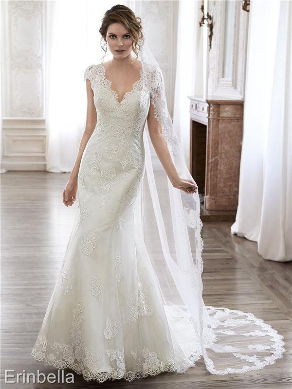ウェディングドレス マーメイドライン マーメイド ロングドレス TW1734