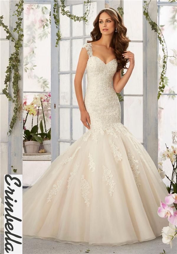 ウェディングドレス マーメイドライン マーメイド ロングドレス TW1539